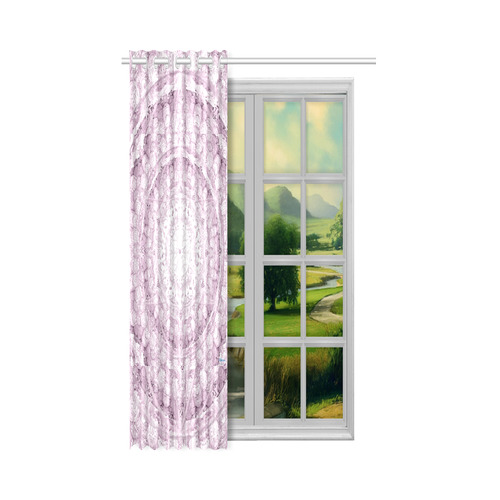 """Protection-Jerusalem by love-Sitre Haim New Window Curtain 50"""" x 84""""(One Piece)"""