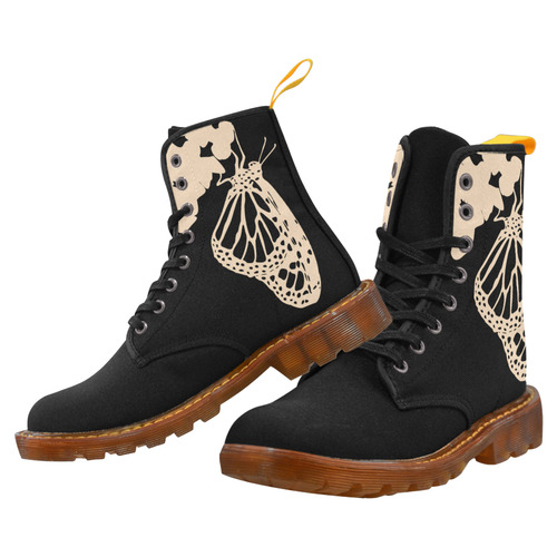 Landing Monarch Butterfly - Boots Martin Boots For Women Model 1203H