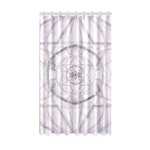 """Protection- transcendental love by Sitre haim Window Curtain 50"""" x 84""""(One Piece)"""