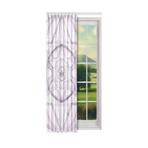 """Protection- transcendental love by Sitre haim Window Curtain 50"""" x 108""""(One Piece)"""