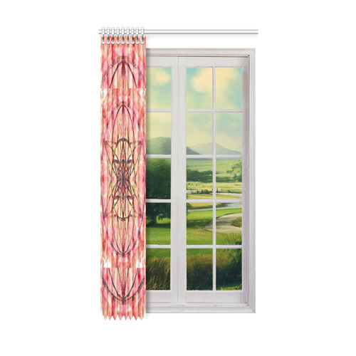 """protection- vitality and awakening by Sitre haim Window Curtain 52"""" x96""""(One Piece)"""