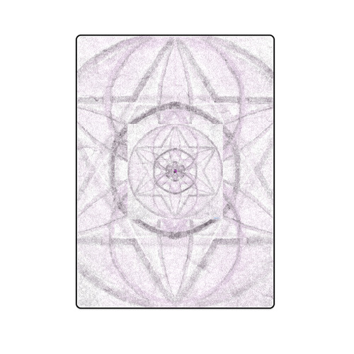 "Protection- transcendental love by Sitre haim Blanket 58""x80"""