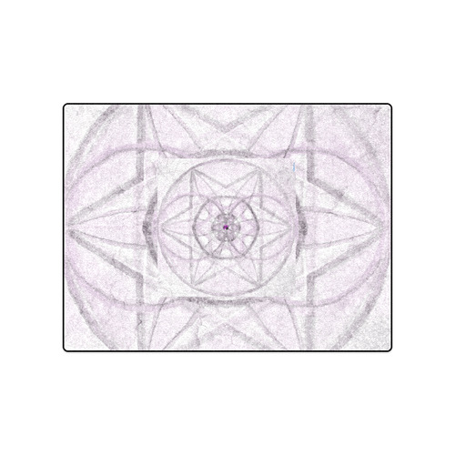"Protection- transcendental love by Sitre haim Blanket 50""x60"""