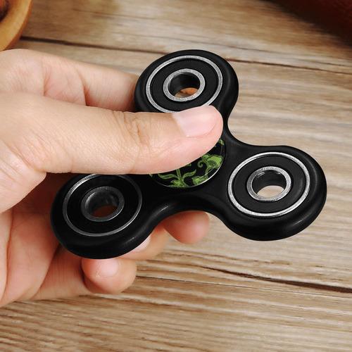 Greenery Floral Fidget Spinner