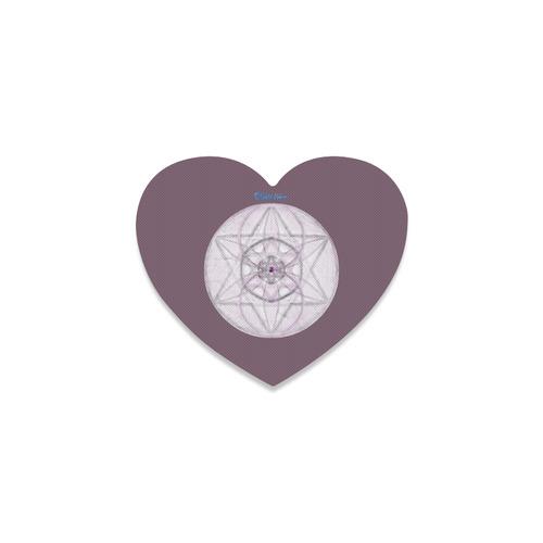 Protection- transcendental love by Sitre haim Heart Coaster