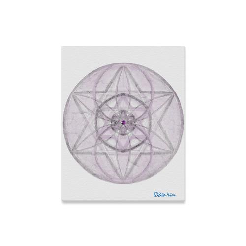 "Protection- transcendental love by Sitre haim Canvas Print 16""x20"""