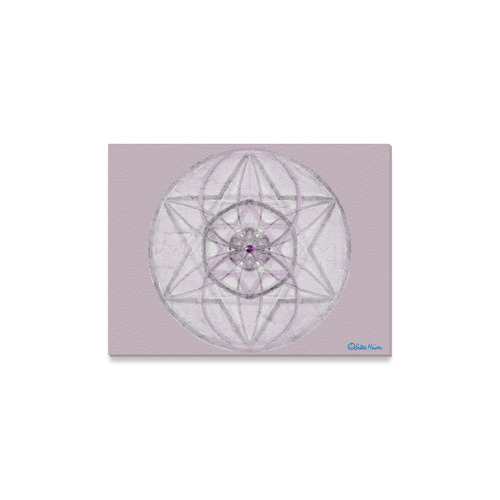 "Protection- transcendental love by Sitre haim Canvas Print 16""x12"""