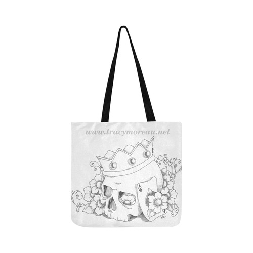 website paint it bag Reusable Shopping Bag Model 1660 (Two sides)