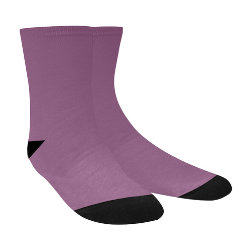 Amethyst Crew Socks