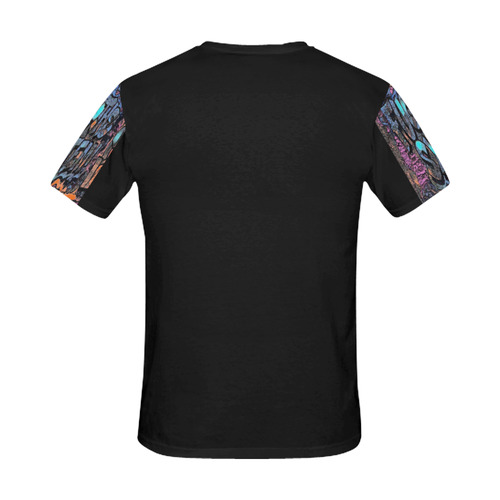 FUCK THE SYSTEM GRAFFITI All Over Print T-Shirt for Men (USA Size) (Model T40)