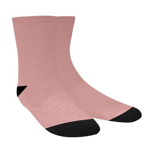 Rosette Crew Socks