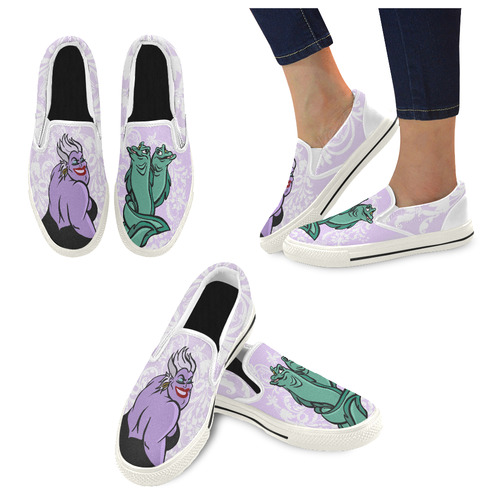 Body Language Women's Unusual Slip-on Canvas Shoes (Model 019)