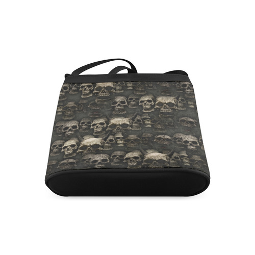 Crypt of the devilish dead skull Crossbody Bags (Model 1613)