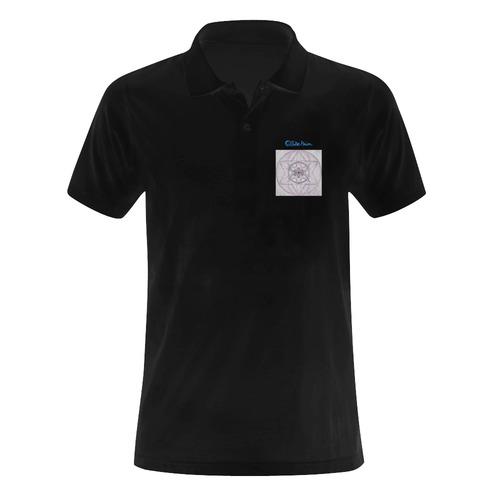 Protection- transcendental love by Sitre haim Men's Polo Shirt (Model T24)