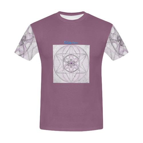 Protection- transcendental love by Sitre haim All Over Print T-Shirt for Men (USA Size) (Model T40)