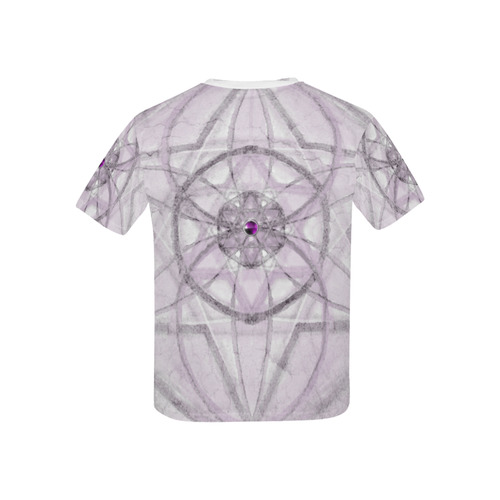 Protection- transcendental love by Sitre haim Kids' All Over Print T-shirt (USA Size) (Model T40)