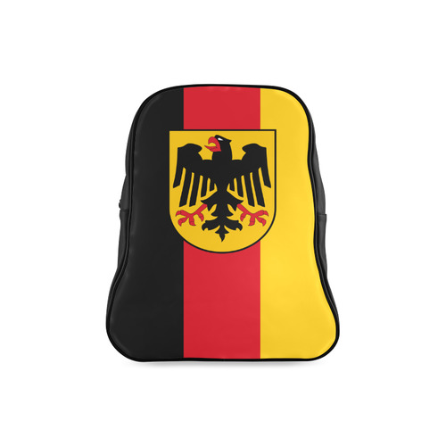 Germany (Hanging flag) School Backpack/Large (Model 1601)