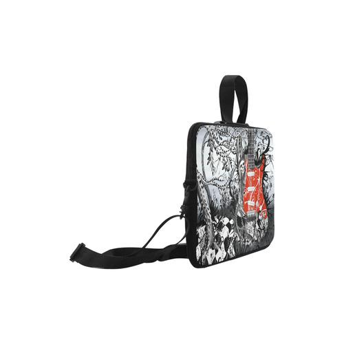 Juleez Macbook Pro Case Skeleton Red Guitar Print By Juleez Macbook Pro 15''