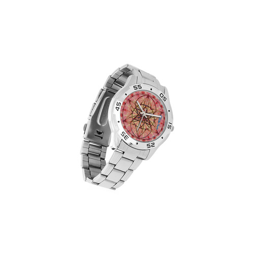 protection- vitality and awakening by Sitre haim Men's Stainless Steel Analog Watch(Model 108)