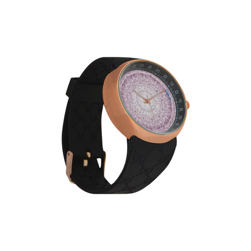 Protection-Jerusalem by love-Sitre Haim Men's Rose Gold Resin Strap Watch(Model 308)