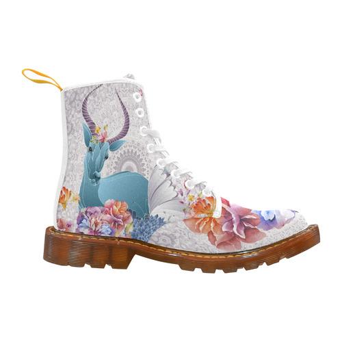 Flower Field Magic Martin Boots For Women Model 1203H