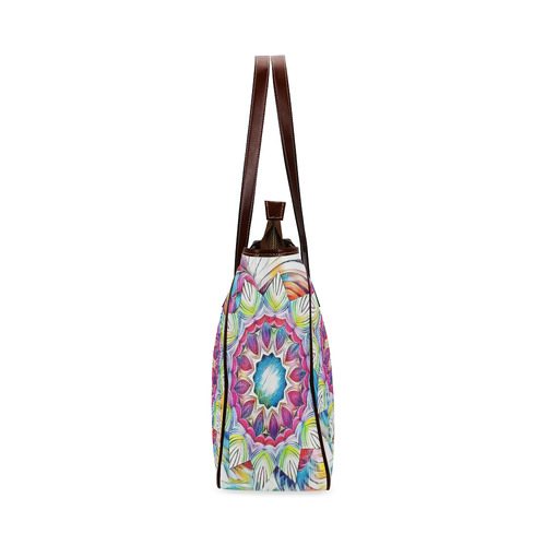 Sunshine Feeling Mandala Classic Tote Bag (Model 1644)