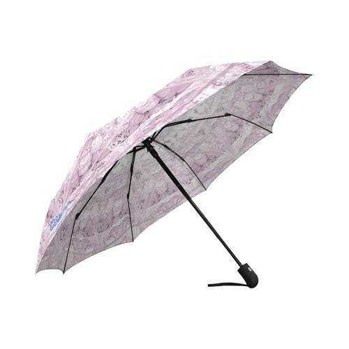 Protection-Jerusalem by love-Sitre Haim Auto-Foldable Umbrella (Model U04)