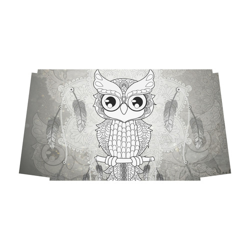 Cute owl, mandala design Classic Travel Bag (Model 1643) Remake