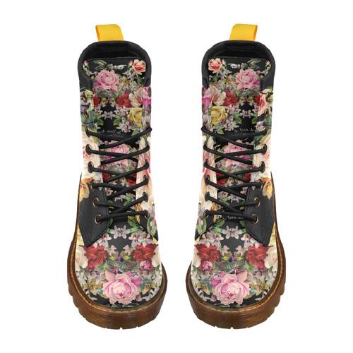 Nuit des Roses High Grade PU Leather Martin Boots For Men Model 402H