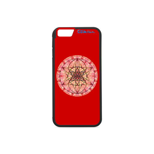 protection- vitality and awakening by Sitre haim Rubber Case for iPhone 6/6s