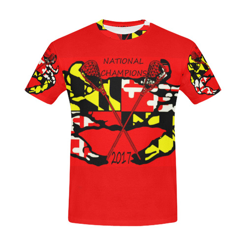 CHAMPEENZ!!! All Over Print T-Shirt for Men (USA Size) (Model T40)