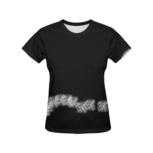 Sponge it! All Over Print T-Shirt for Women (USA Size) (Model T40)