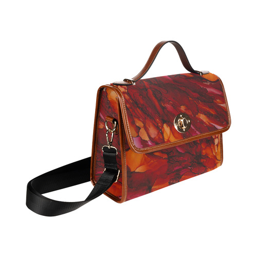 Chaos 2 Waterproof Canvas Bag/All Over Print (Model 1641)