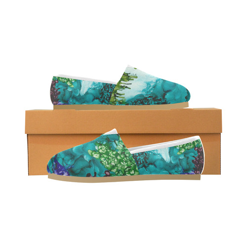 under the sea Women's Casual Shoes (Model 004)