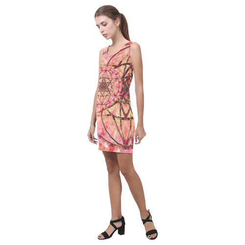 protection- vitality and awakening by Sitre haim Medea Vest Dress (Model D06)