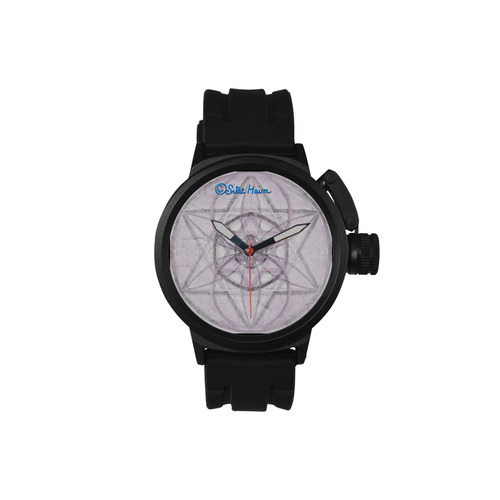 Protection- transcendental love by Sitre haim Men's Sports Watch(Model 309)