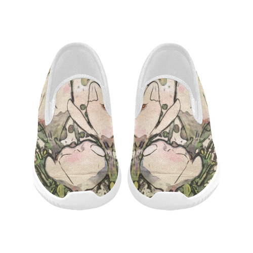 Floral Art Studio 7216 Orion Slip-on Women's Canvas Sneakers (Model 042)