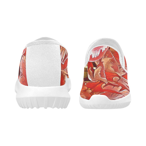 Gorgeous Nature In AmazinColors 5B by JamColors Orion Slip-on Women's Canvas Sneakers (Model 042)