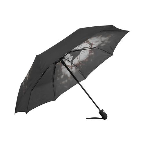 dreamcatcher - pentagram Auto-Foldable Umbrella (Model U04)