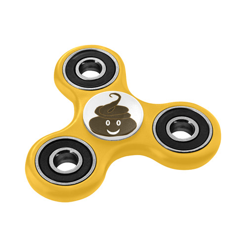 smiling poo emoji 2 white background inspired by my 8 yr old nephew fidget spinner Fidget Spinner