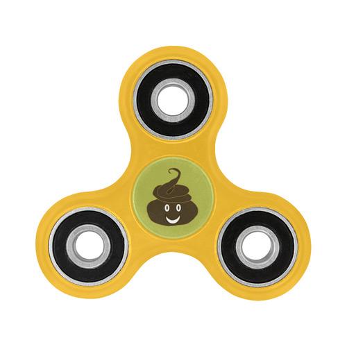 smiling poo emoji 2 slime green background inspired by my 8 yr old nephew fidget spinner Fidget Spinner