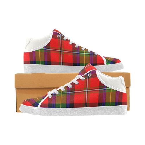 BOYD TARTAN Women's Chukka Canvas Shoes (Model 003)