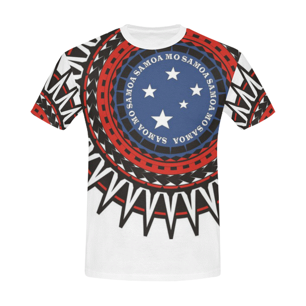 Samoa Mo Samoa All Over Print T Shirt For Men Usa Size Model T40
