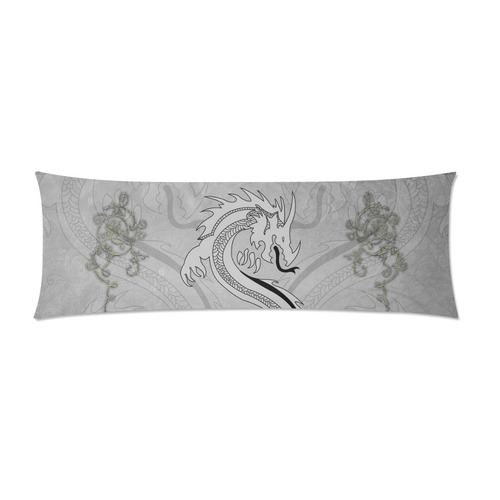 """Chinese dragon, Custom Zippered Pillow Case 21""""x60""""(Two Sides)"""