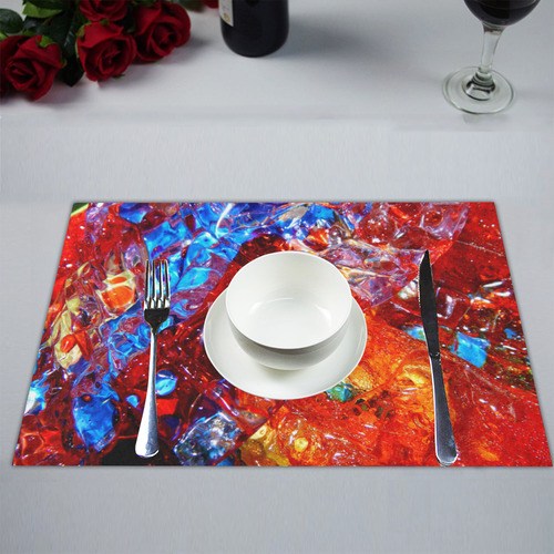 Liquid Abstract 0180-444 Placemat 14'' x 19''