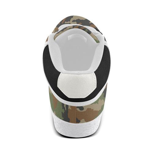 "Camouflage ""Woodland"" Men's Chukka Canvas Shoes (Model 003)"