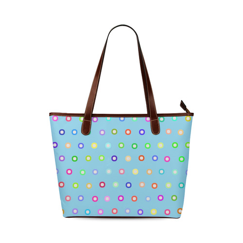 pt217_6 Shoulder Tote Bag (Model 1646)