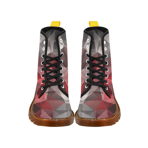 Abstract pattern Martin Boots For Women Model 1203H