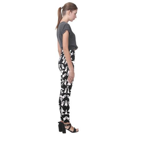 Cute Halloween Ghosts Cassandra Women's Leggings (Model L01)
