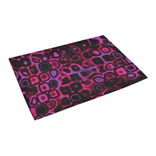 """psychedelic lights 3 by JamColors Azalea Doormat 24"""" x 16"""" (Sponge Material)"""